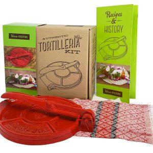 Cast Iron Tortilla Press Kit 1