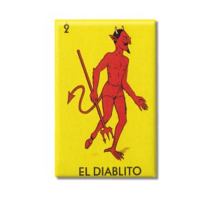 Diablo Loteria Game 2x3 Magnet